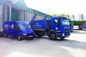 removal van skip truck skip hire